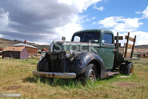 Classic Pick-Up in Bodie Ghost Town