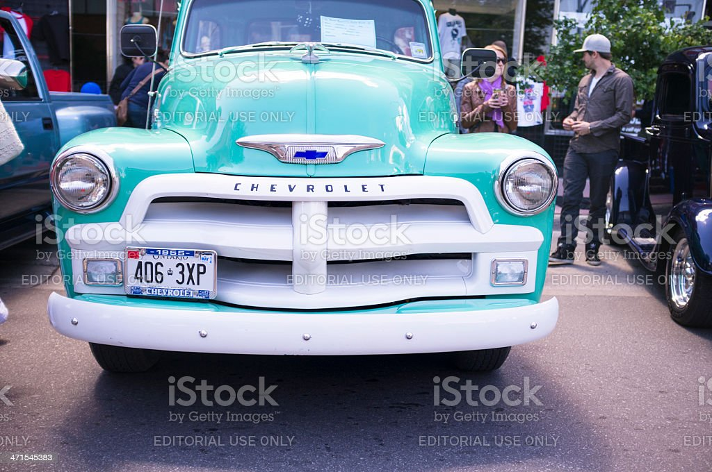 Classic Cars On Display At The 11th Annual Retrofest stock photo