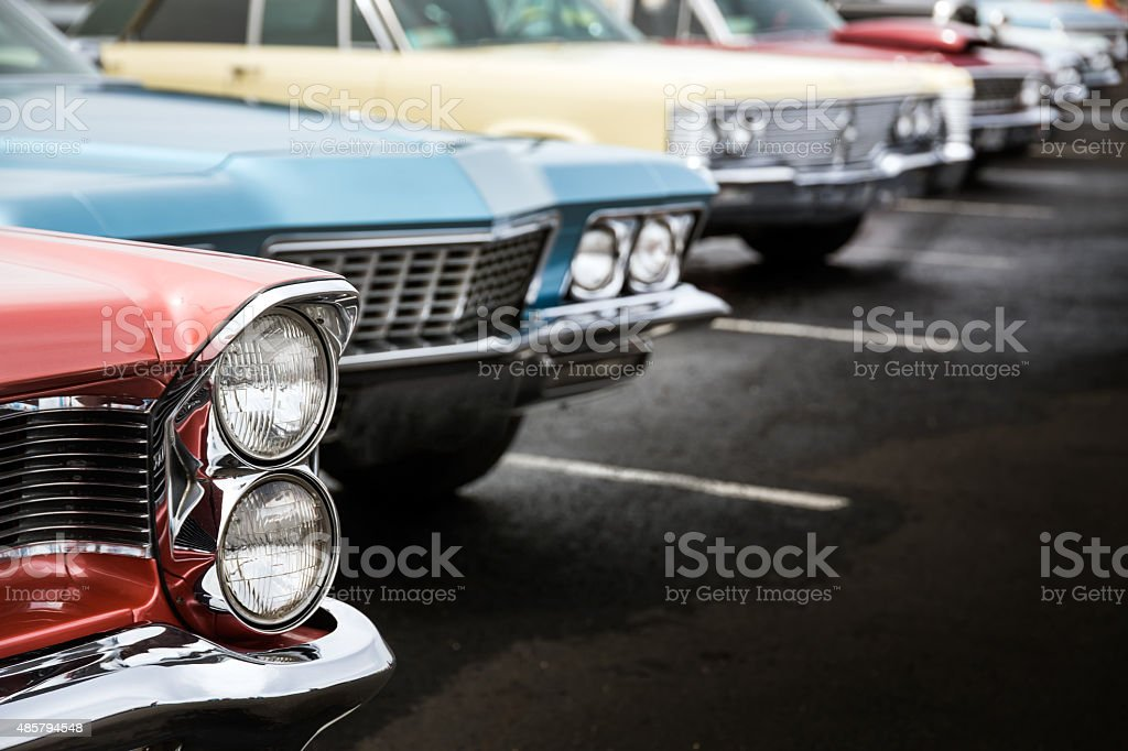 Classic cars royalty-free stock photo