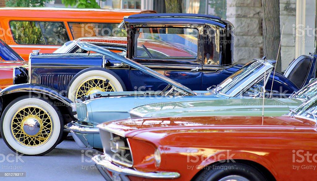 Clásico de coches - Foto de stock de Aire libre libre de derechos