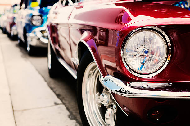 classic cars - classic cars stock photos and pictures