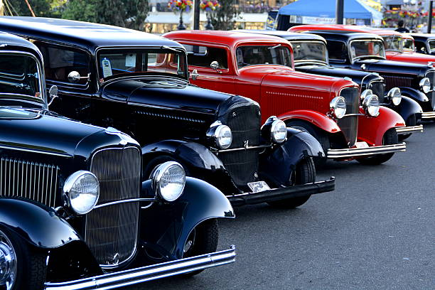 classic autos - classic cars stock photos and pictures