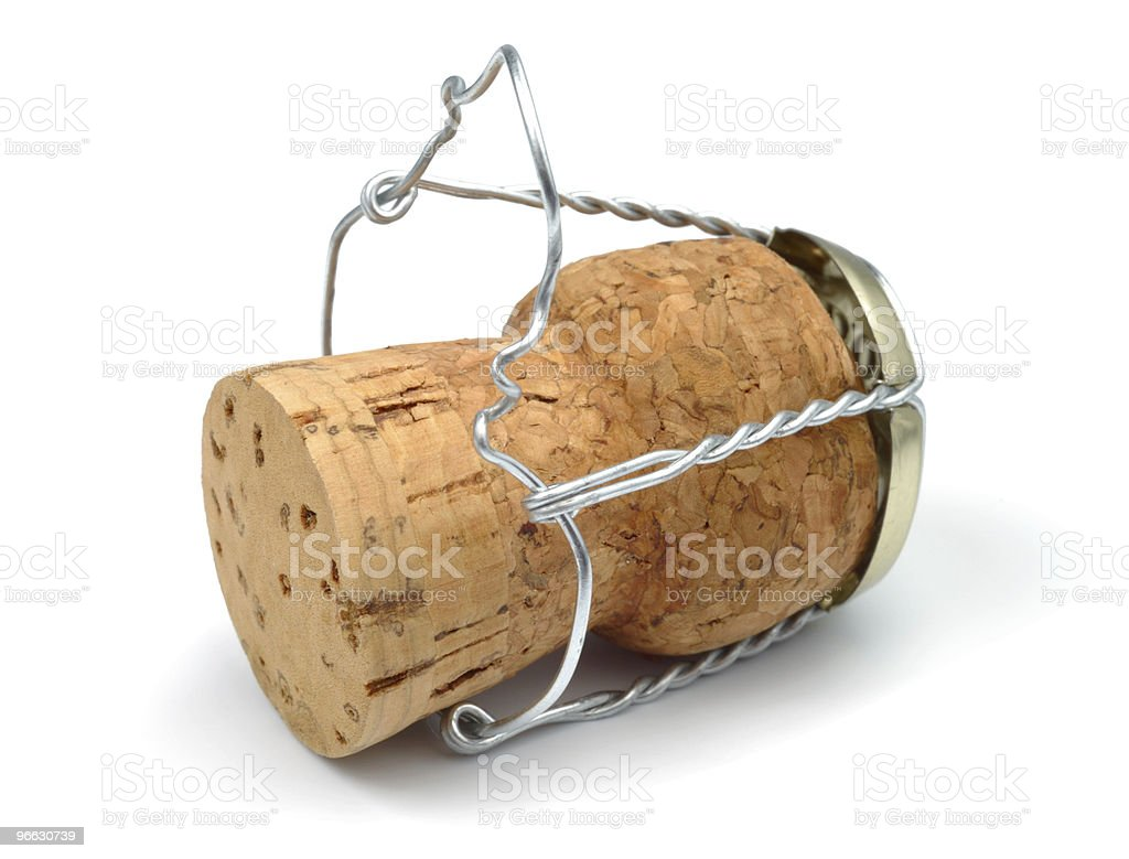 Classic Champagne Cork royalty-free stock photo