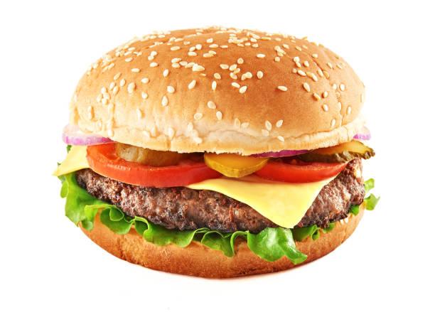klasik çizburger - cheeseburger stok fotoğraflar ve resimler