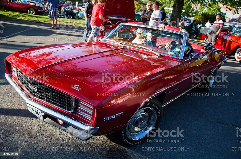 Fotografa De Clsico Chevrolet Camaro Ss 350 Convertible Y Ms