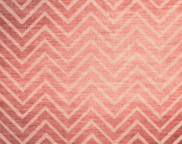 Classic chevron pattern background, grunge bleached canvas texture, hi res stock photo