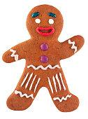 Classic Christmas gingerbread man