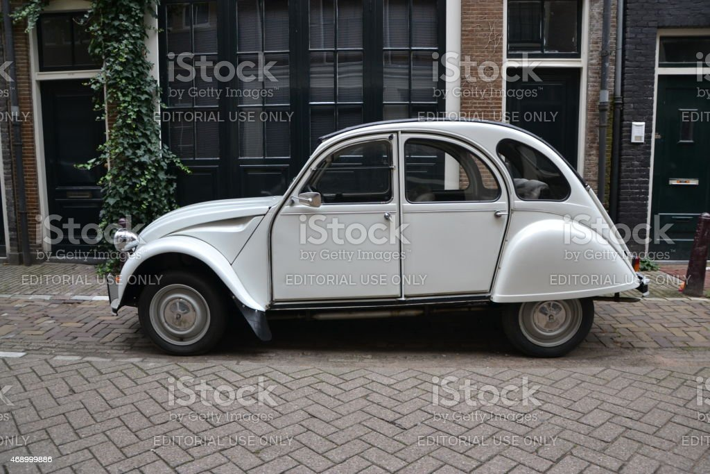 Classic Citroën 2CV sur la rue - Photo