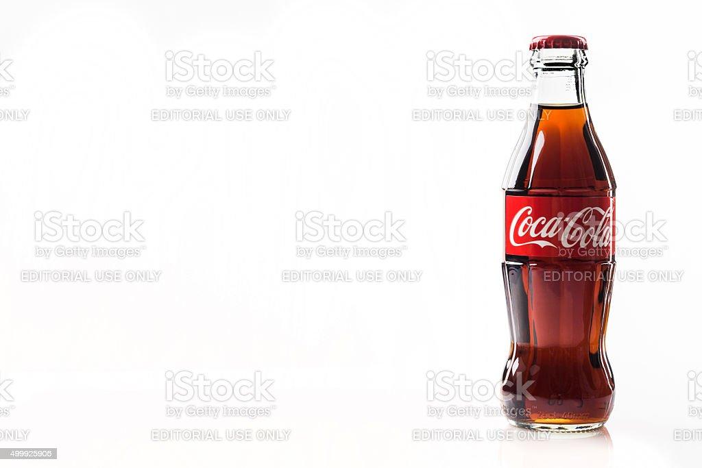 Clásico de botella de Coca-Cola - foto de stock