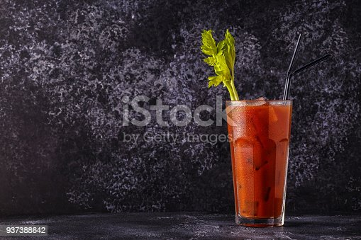 istock Classic cocktail - Bloody Mary 937388642