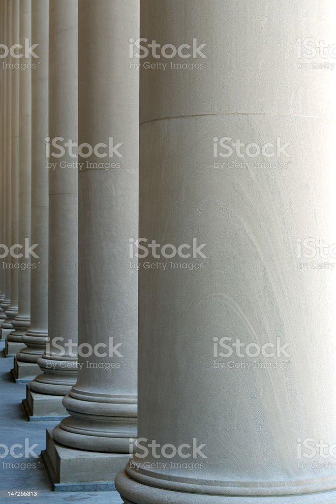 Classic Columns Pattern stock photo