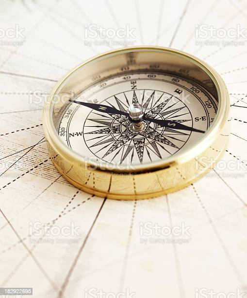 Klassische Compass Stockfoto und mehr Bilder von Alt