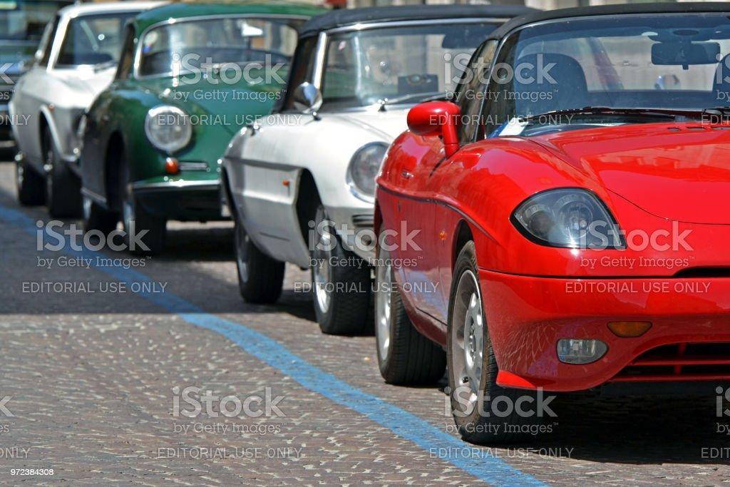 Coupé und Cabriolet Oldtimer – Foto