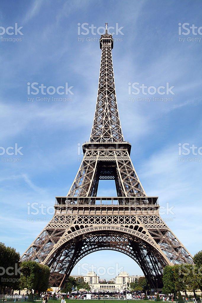 Classic Eiffel Tower royalty-free stock photo