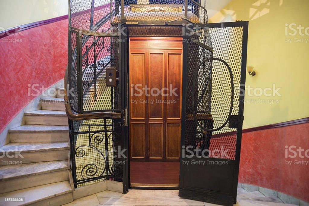 Classic Elevator royalty-free stock photo