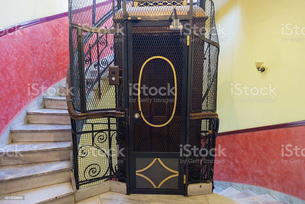 Clásico de ascensor - foto de stock