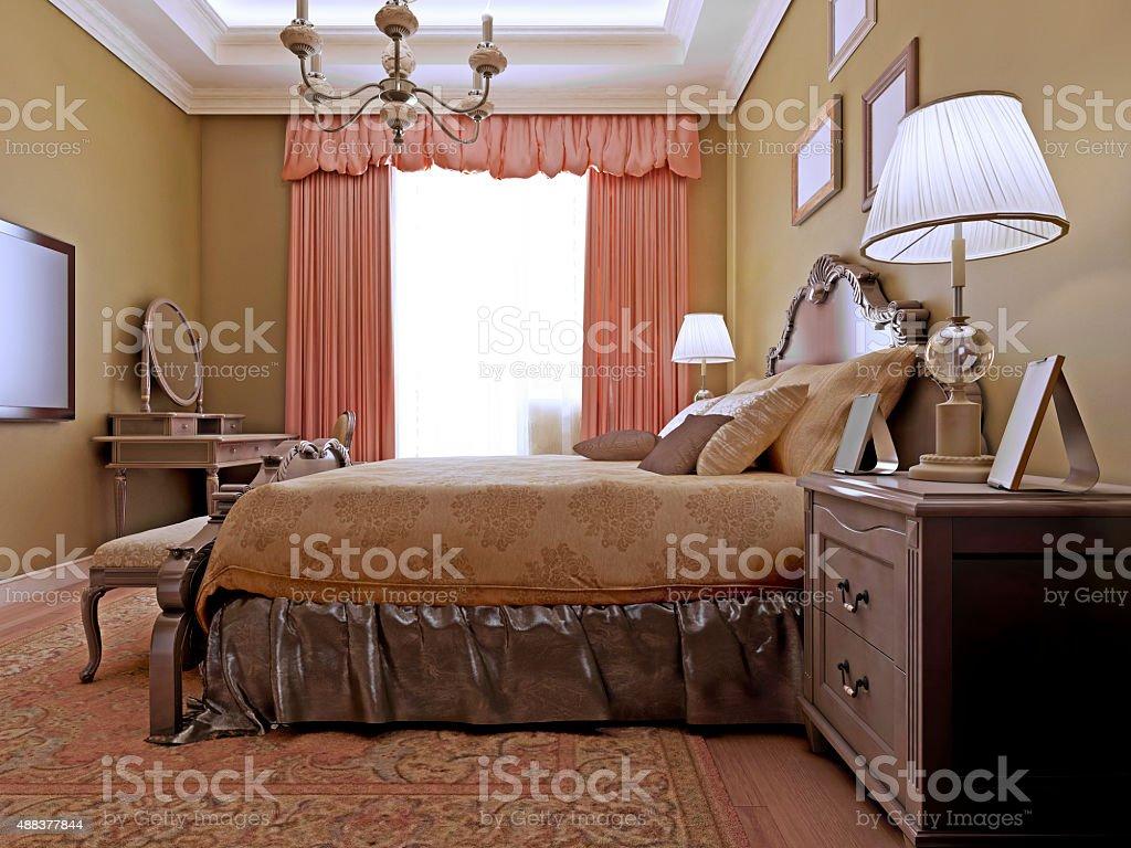 Photo libre de droit de Chambre De Style Classique Anglais banque d\'images  et plus d\'images libres de droit de {top keyword}