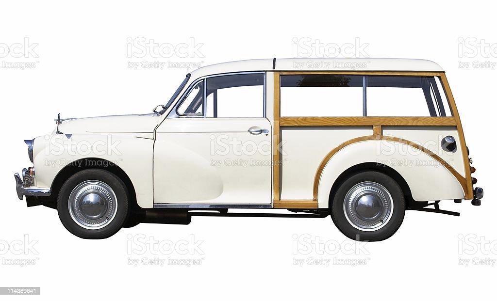 Classic Estate Car stock photo