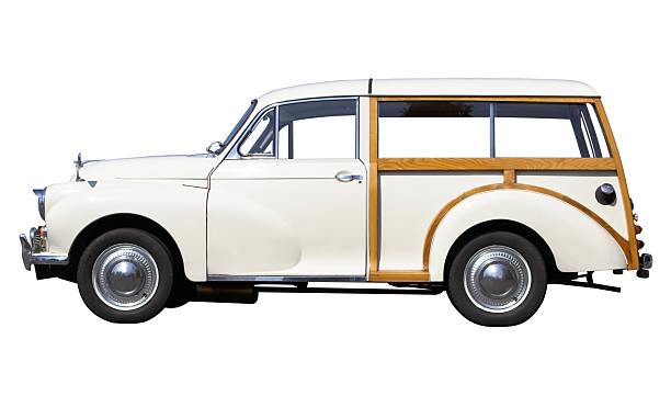 klassische estate auto - kombi stock-fotos und bilder