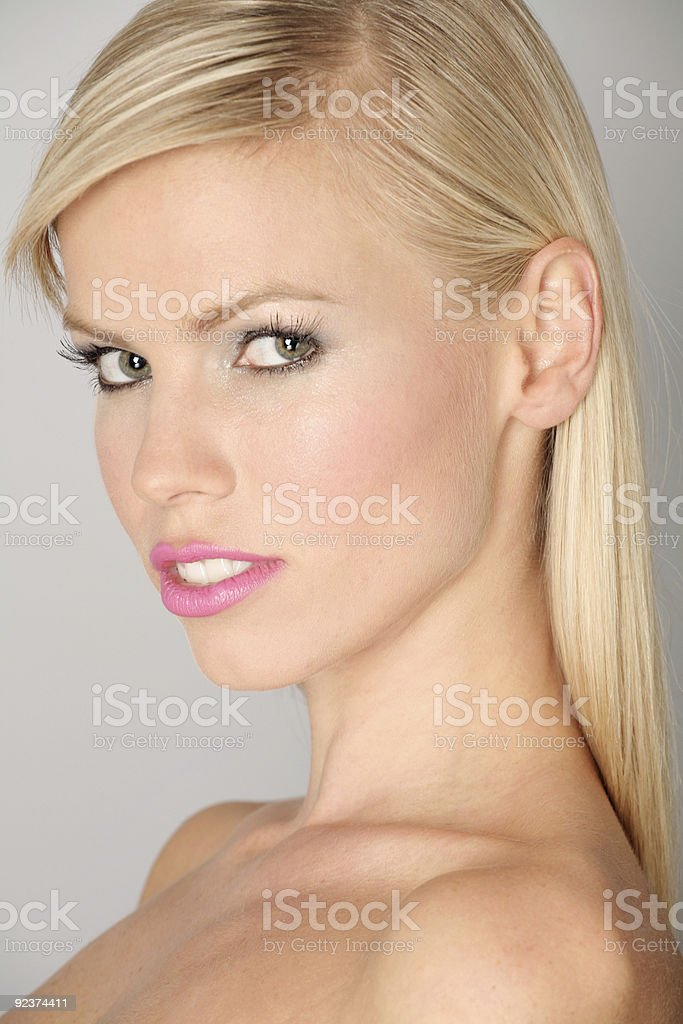 Classic European Beauty royalty-free stock photo