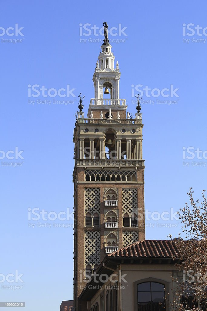 Classic European Style Tower royalty-free stock photo