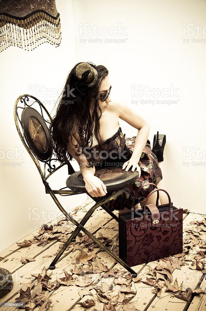 Classic Fashion royalty-free stock photo