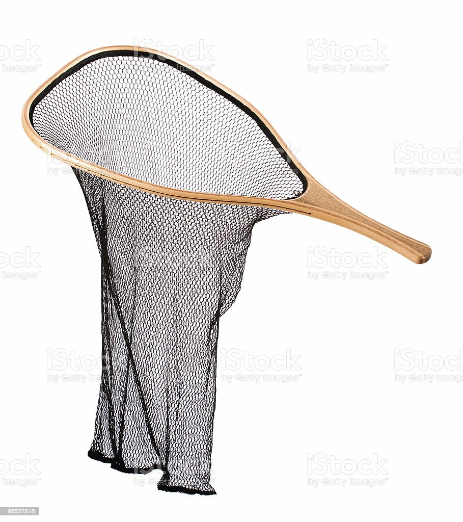 Classic fishing net royalty-free stock photo