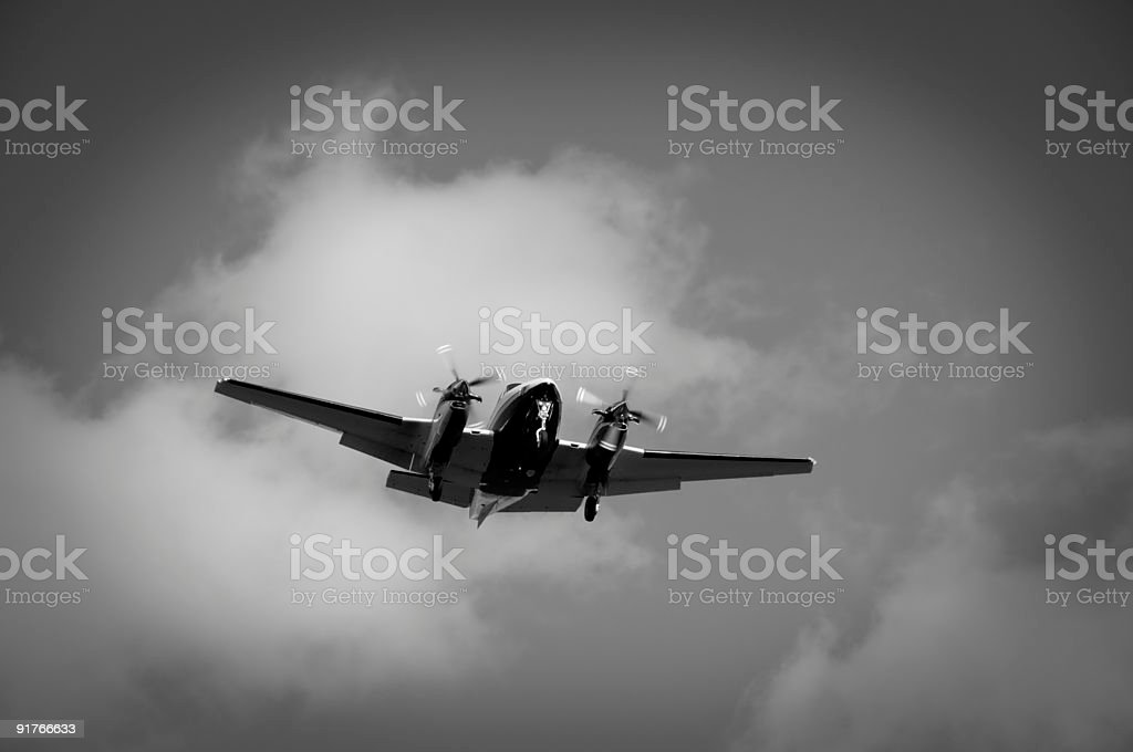 Classic Flight stock photo