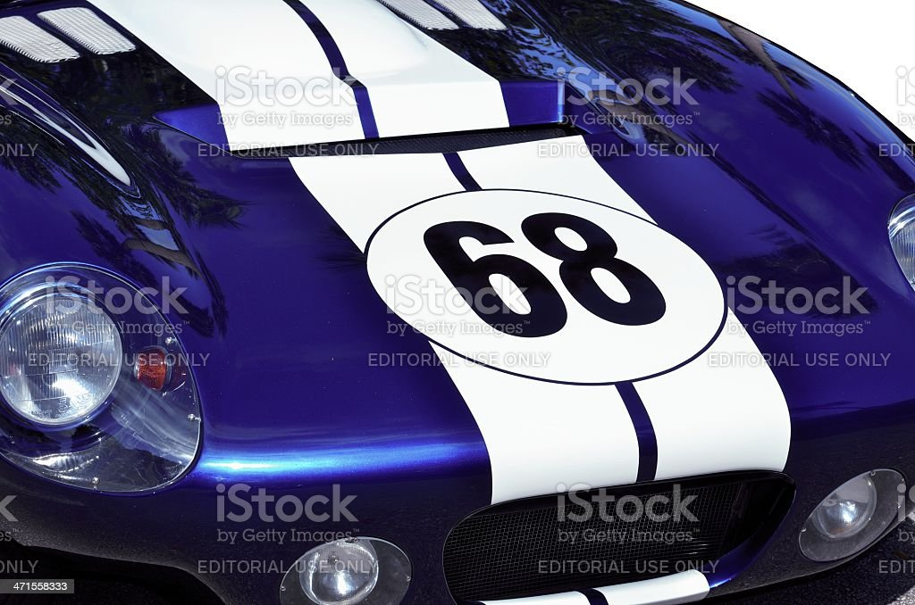 Classic Ford Shelby Cobra stock photo