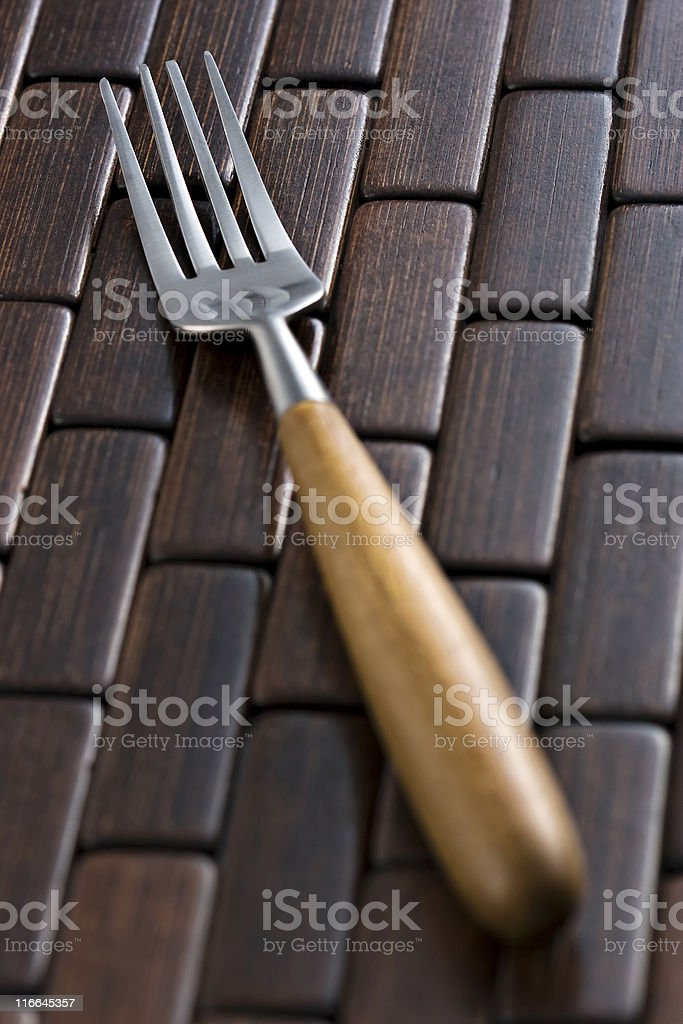 Classic fork royalty-free stock photo