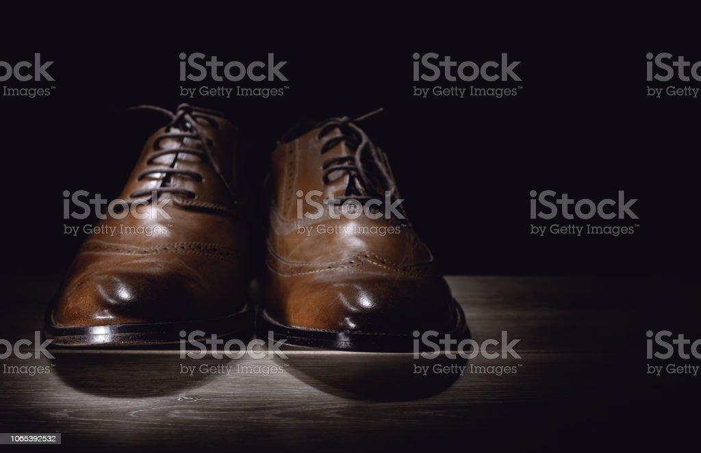 Chaussures De Classique Formelle Photo Marron Mans Droit Libre 5j4LRA