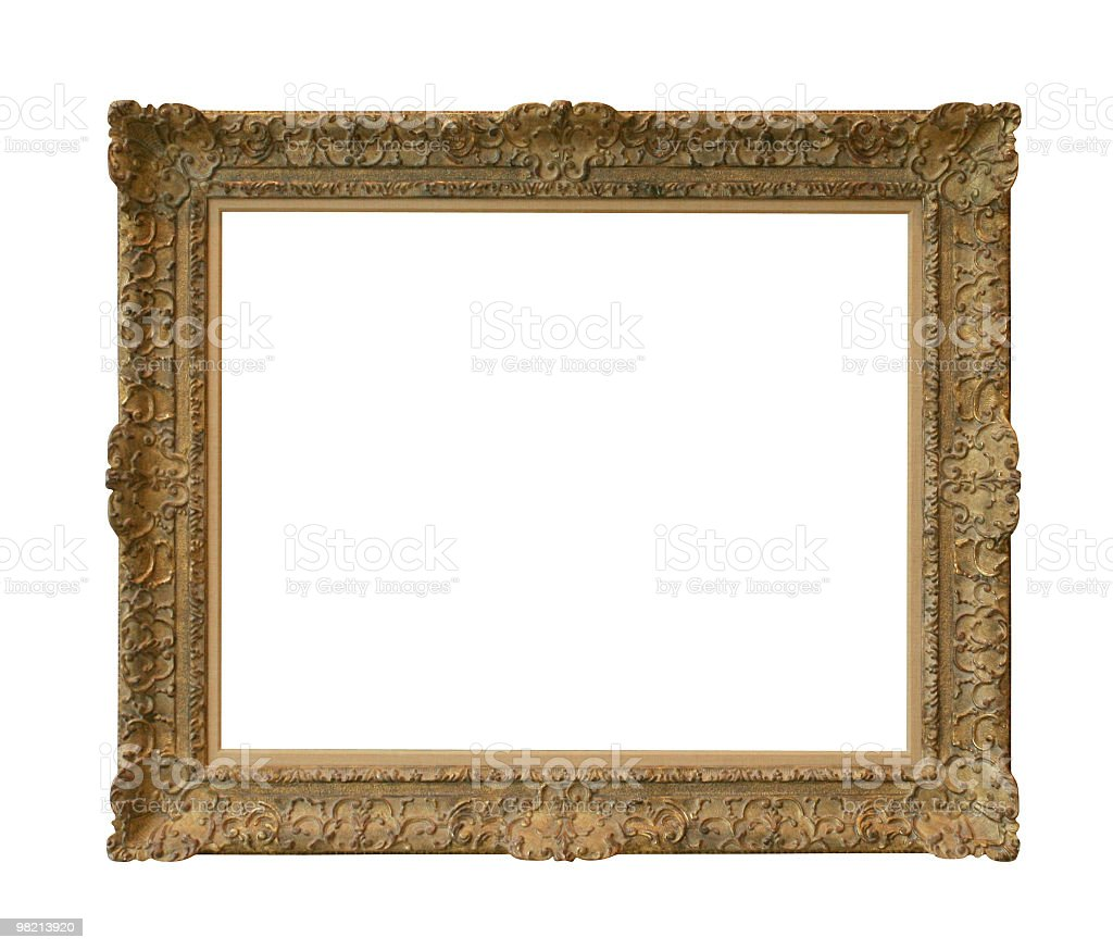 Classic frame to use in your design royalty-free stock photo
