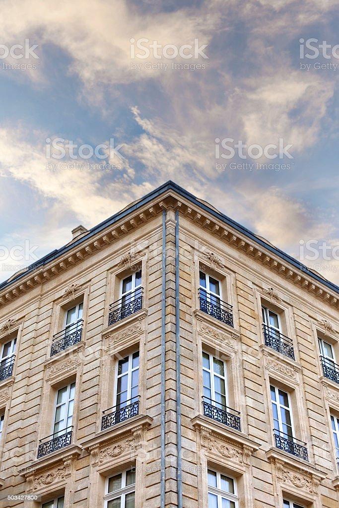 Bâtiment français classique - Photo