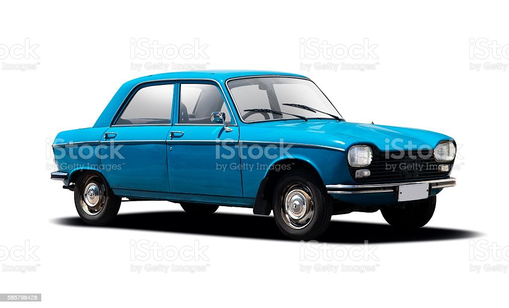 Classic French Car stock photo