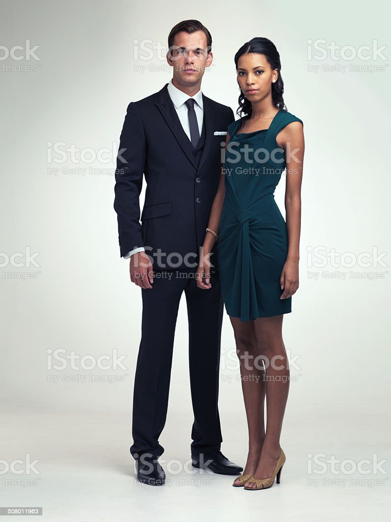 Classic good looks stock photo