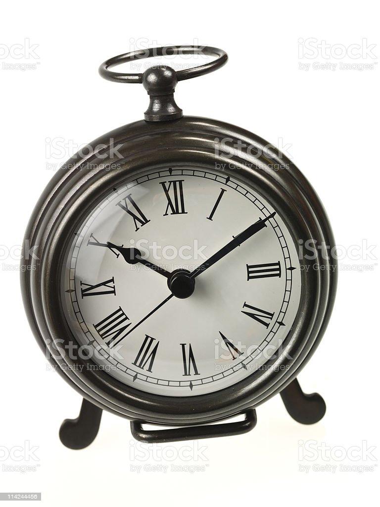 Classic hand clock stock photo