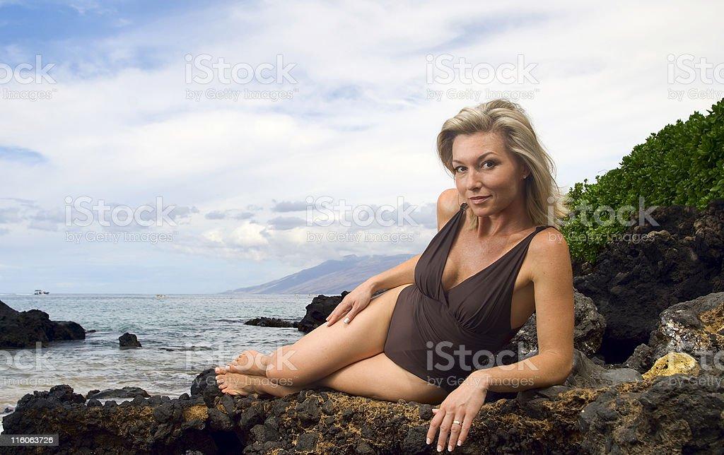 Classic Hawaii royalty-free stock photo