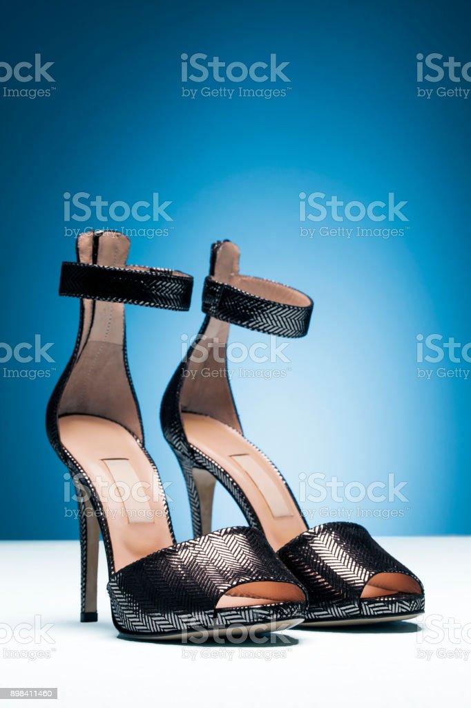 High Mehr Klassische Von Stockfoto Blauer Stiletto Und Heels Bilder ohCQxtdBsr