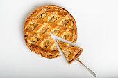 classic homemade apple pie, grandmother's recipe