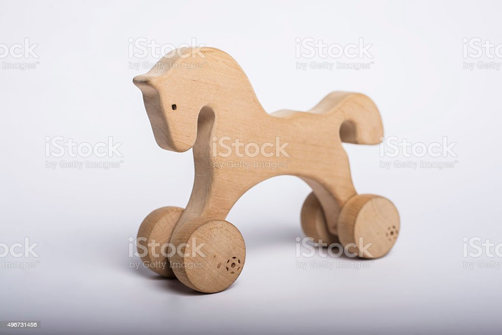 Classic Homemade Wooden Rocking Horse Stock Photo Download Image Now Istock