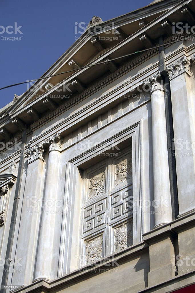 Classic house detail royalty-free stock photo