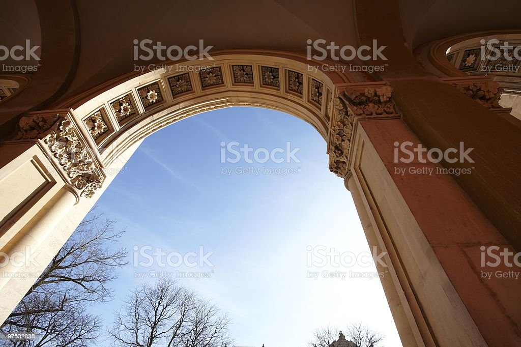 classic in a sunny day royalty-free stock photo