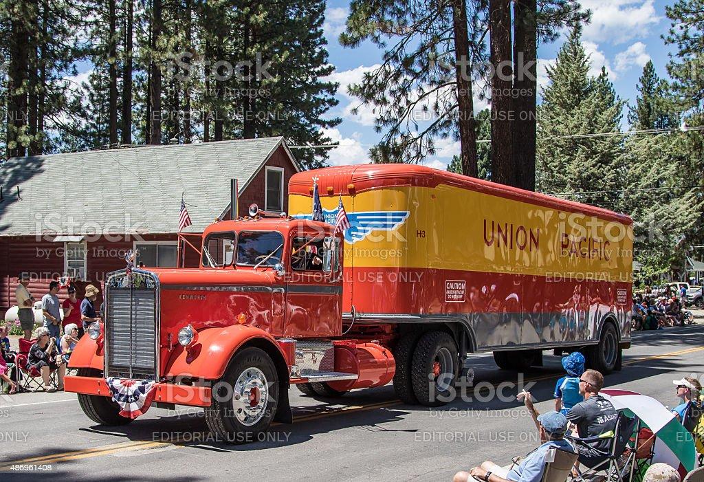 Classic Kenworth Truck stock photo
