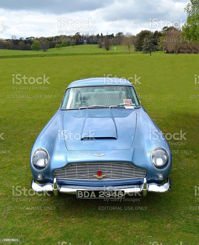 Classic Light Blue Aston Martin Db5 Stock Photo Download Image Now Istock