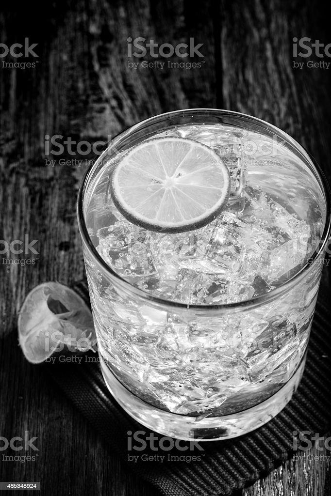 Klassische margarita cocktail B & W – Foto