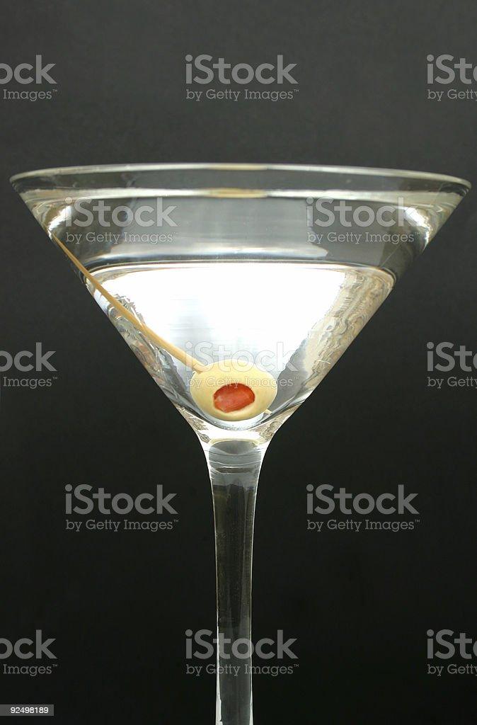 Classic Martini royalty-free stock photo