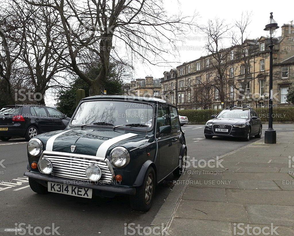 Classic Mini Car royalty-free stock photo