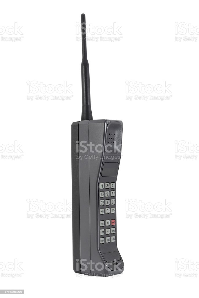 Classic Mobile Phone stock photo