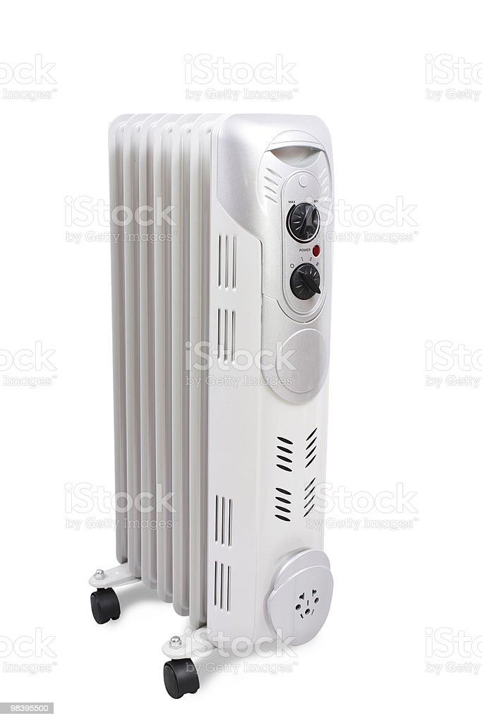 classic model of heater royalty-free stock photo