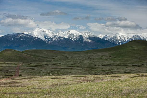 Classic Montana landscape. stock photo